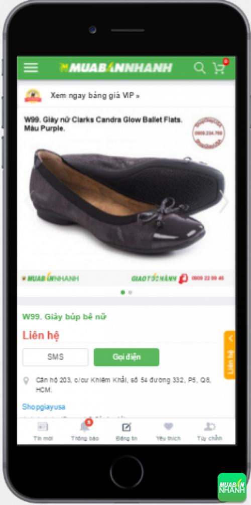 Giày búp bê nữ đẹp được bán trên Mạng xã hội Mua Bán Nhanh