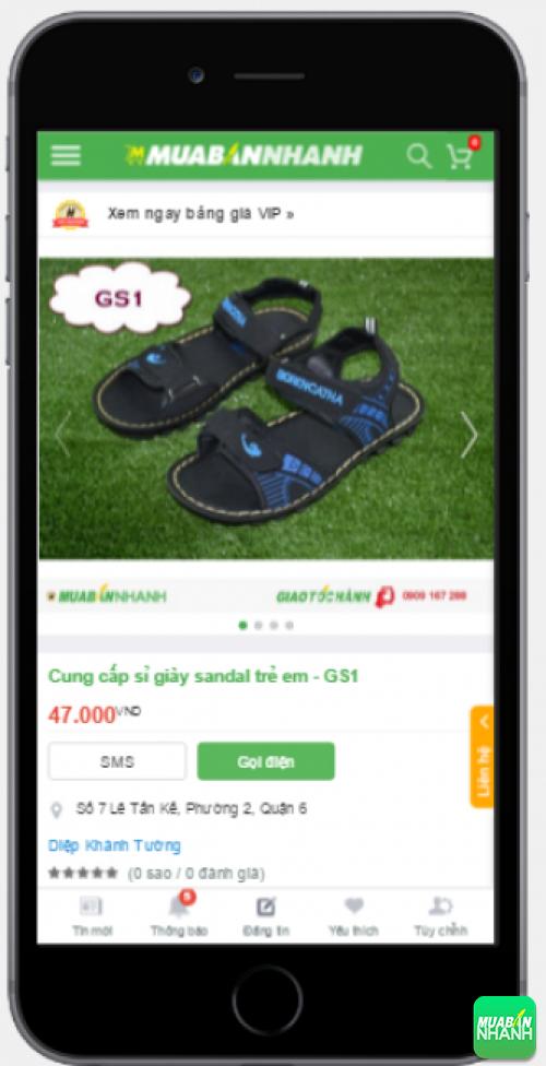 Mẫu sandal xốp chất lượng cực tốt dành cho trẻ em có bán trên Mua Bán Nhanh